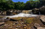 The Falls at Richmond - North Yorkshire - UK.