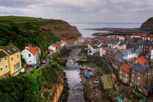 Staithes - North Yorkshire - UK.