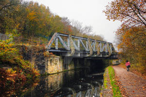 Tracks out of Leeds - Armley - UK