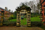 Ornate rear entrance at Wentworth Woodhouse
