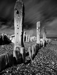 At Spurn Point - East Yorkshire - UK (infrared)