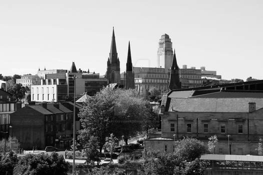 Leeds University Building - Leeds - UK +mono