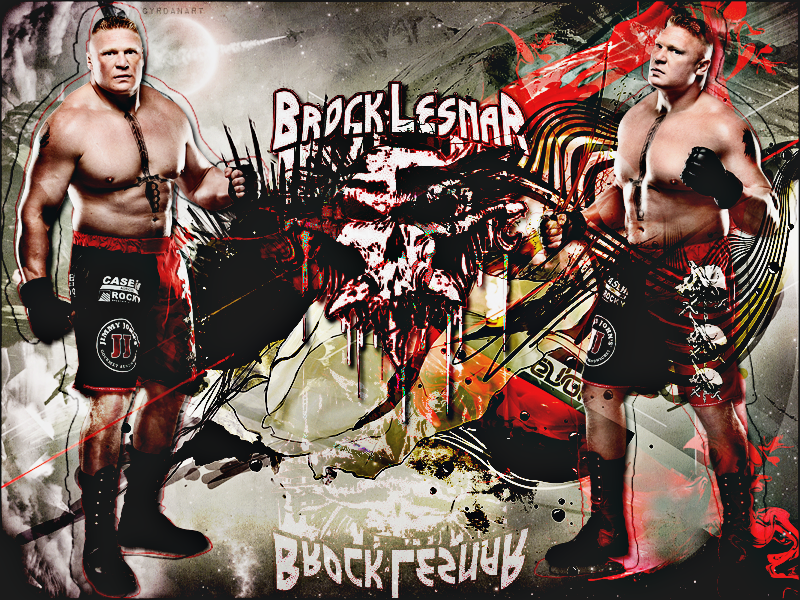 Brock Lesnar HERE COMES THE PAIN By Cyrdanwwe