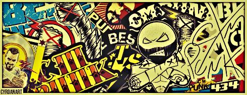 Virtual total wrestling - Cm punk logo images ...