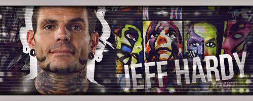 Jeff Hardy Face Paint Banner by Cyrdanwwe