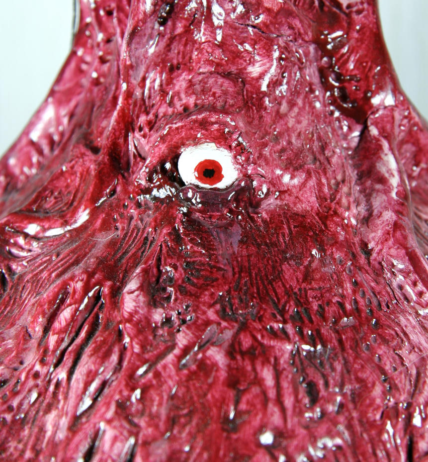Detail of Bloody vase by Alderfly