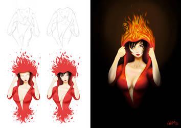 On Fire Steps by INovumI