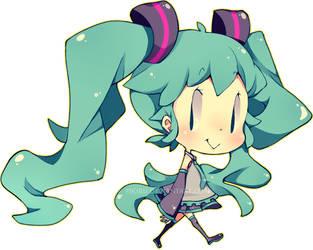 Little Miku by Pikiru