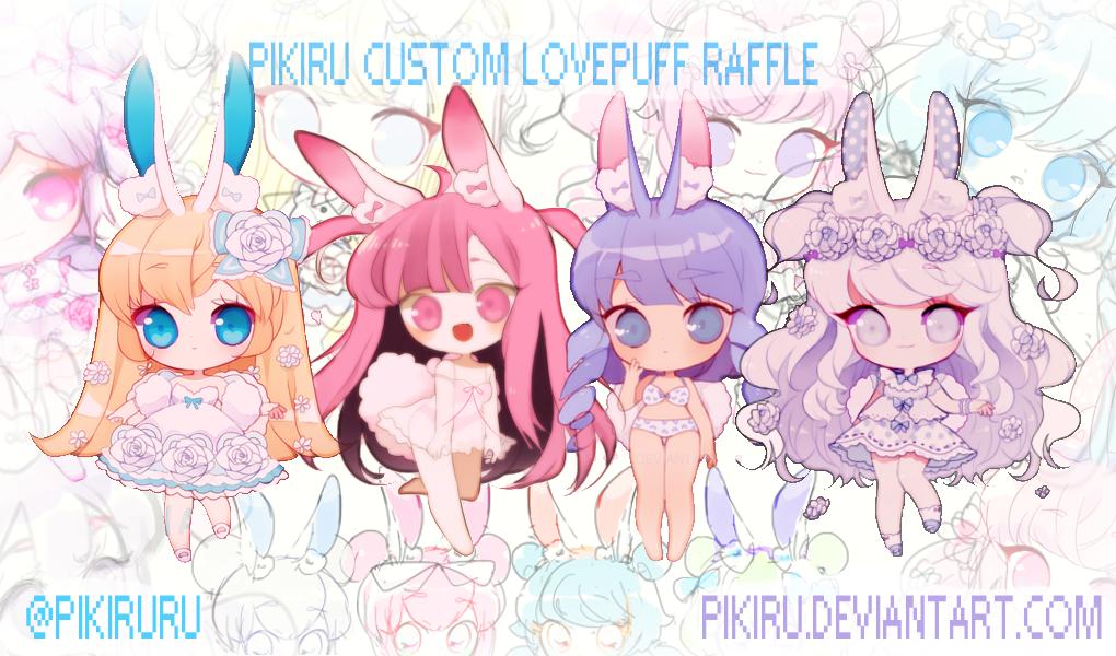 Custom Lovepuff Raffle! by Pikiru
