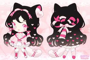Valentine's Heartpuff [CLOSED] by Pikiru