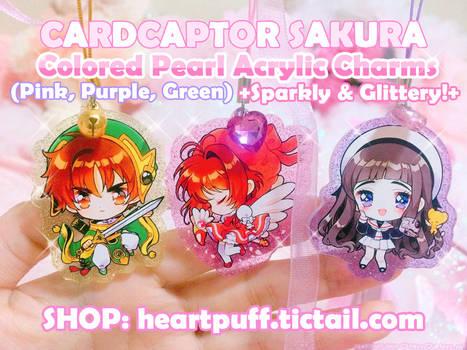 [RESTOCKED] Cardcaptor Sakura Charms