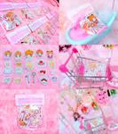 Cardcaptor Sakura Sticker Pack of 20