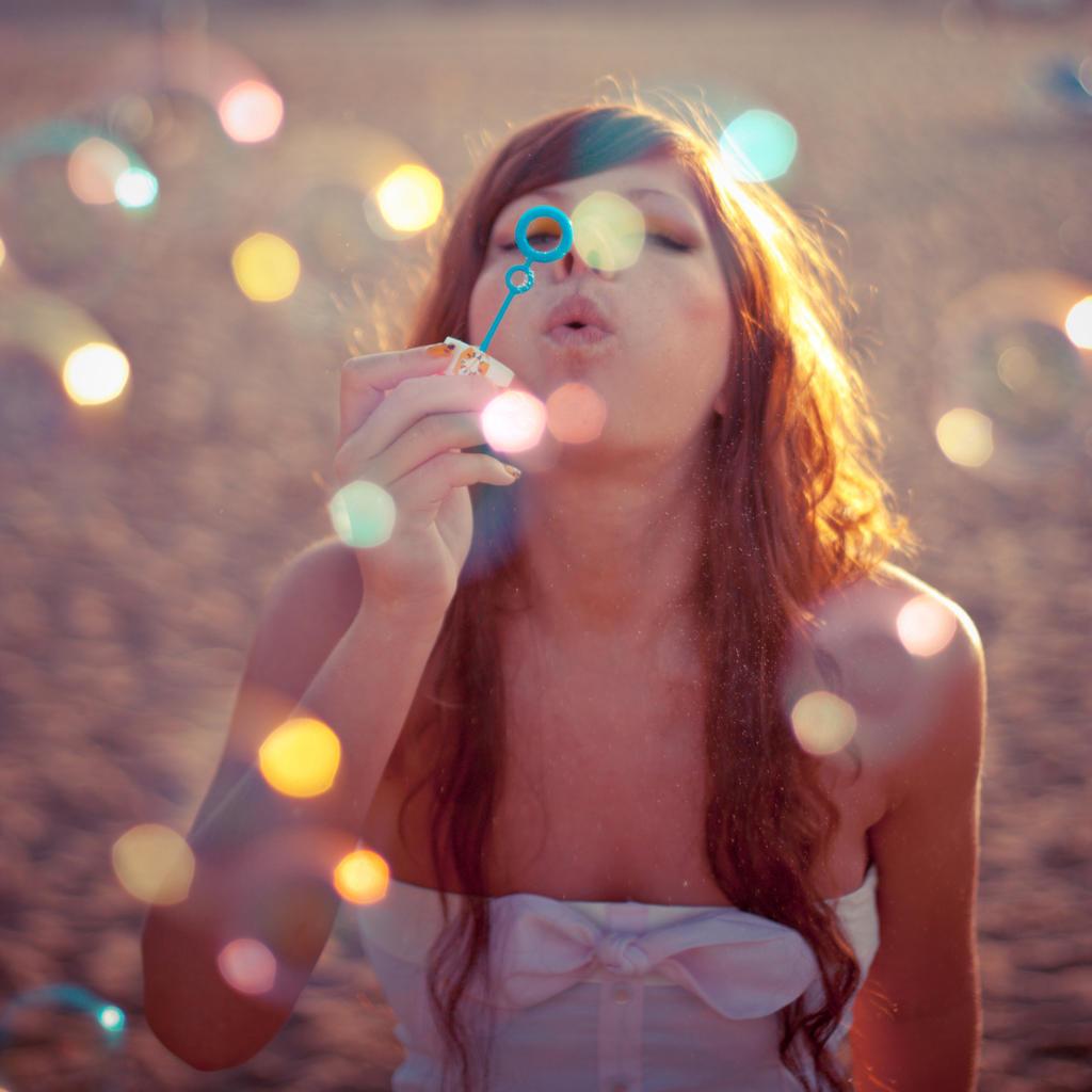 bokeh bubbles_2 by AlesanaCore