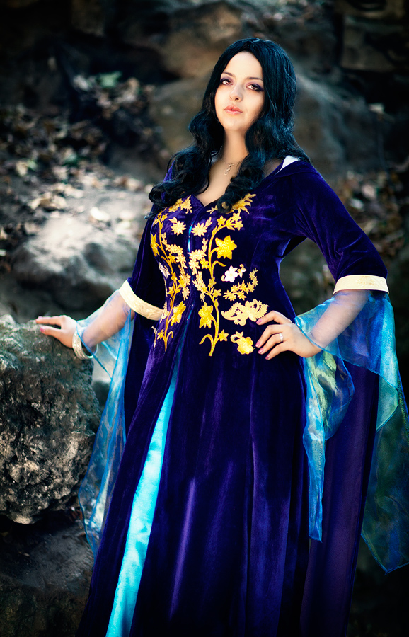 Morgana merlin blue dress