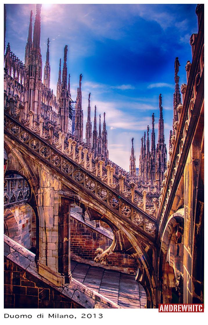 Duomo di Milano by andrewhitc
