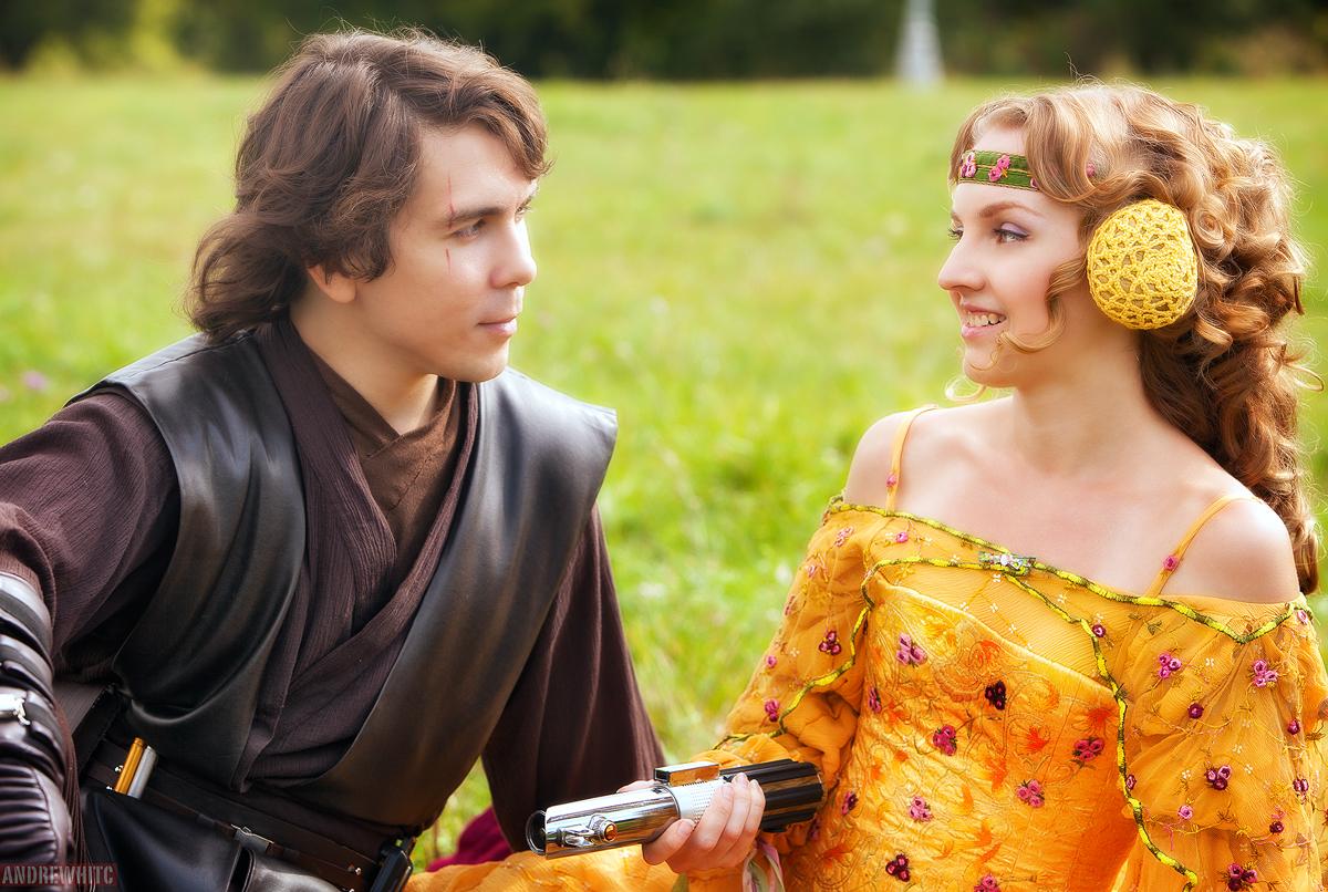 Anakin skywalker and padme amidala episode 3