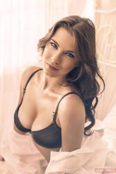 Anastasiya Zelenova Boudoir Shoot by andrewhitc