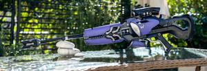 WidowKiss, WidowMaker Gun from Overwatch by andrewhitc