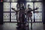 Clonetrooper Wolf Pack and Sandtrooper