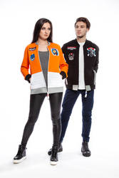 Star Wars Bomber Jackets in Tie and X-Wing Pilot by andrewhitc
