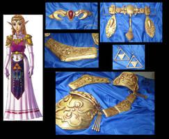 Zelda Armor -Commission by Sheniji