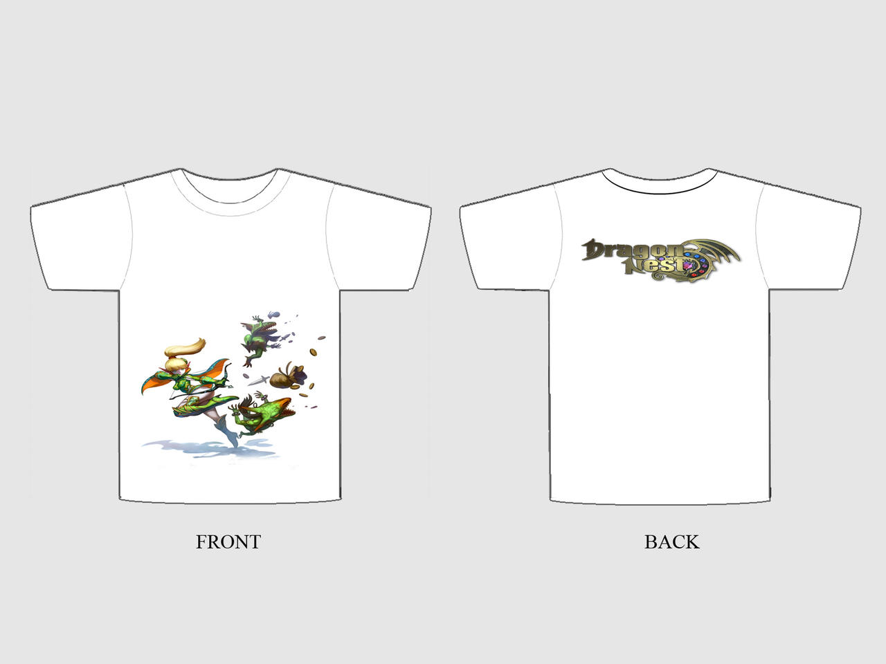 Dragon Nest T Shirt Design