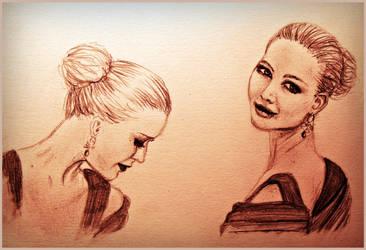 Jennifer Lawrence by SparklingR