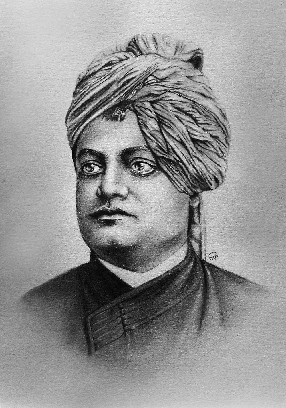 Swami Vivekananda by SparklingR on DeviantArt