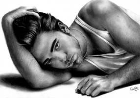 Robert Pattinson by knathe25