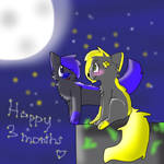happy 3 months by AlexTheFurry