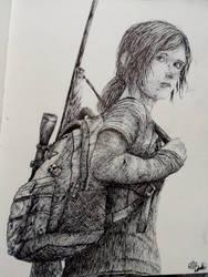 Ellie (The Last of Us) by LDASCZ