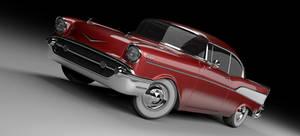 Chevy Bel Air 1957 studio