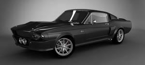 Mustang Shelby GT 500 67 V-Ray
