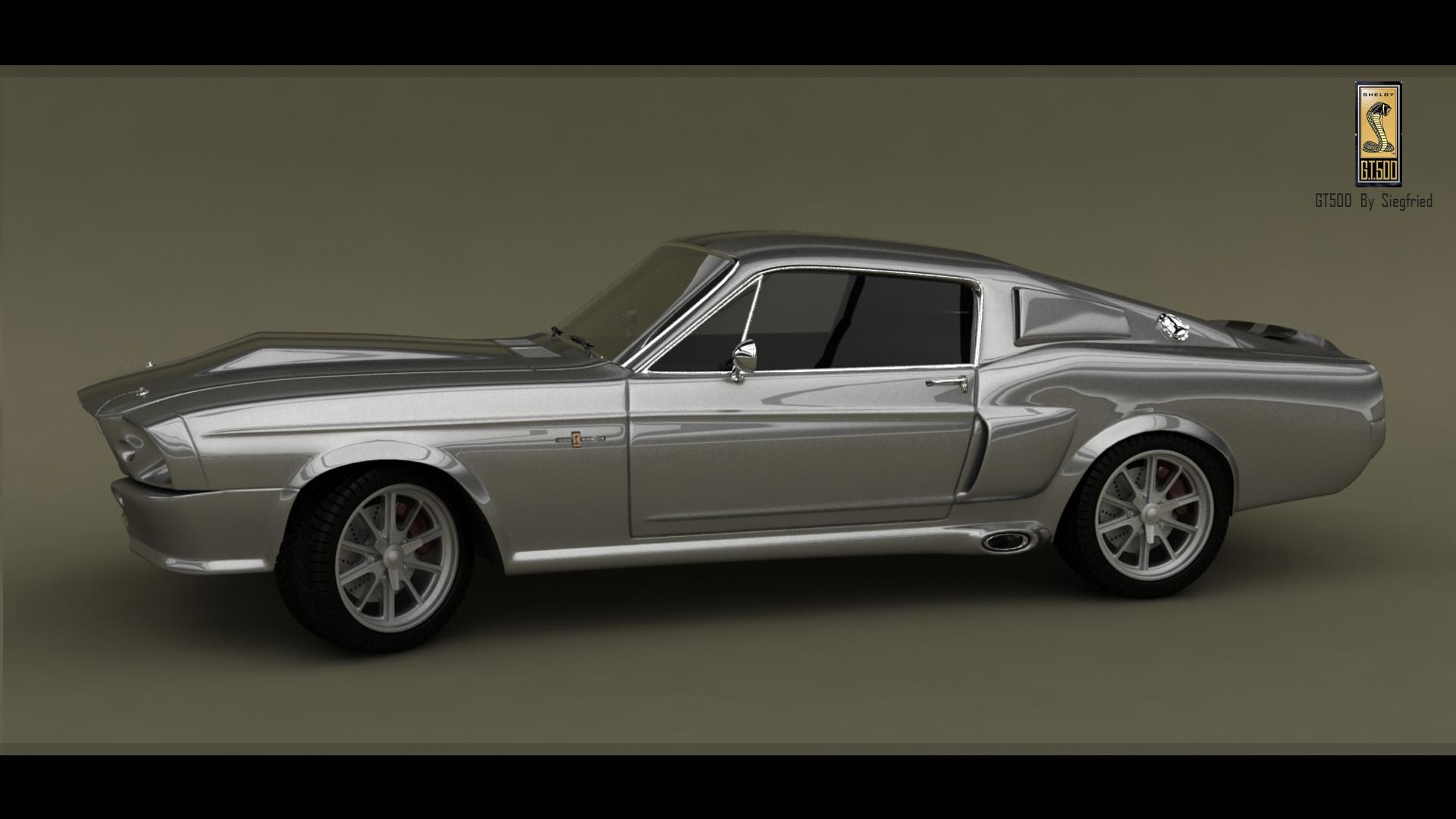 Mustang Shelby GT 500 1967 render2 by Siegfried-Ukr on DeviantArt