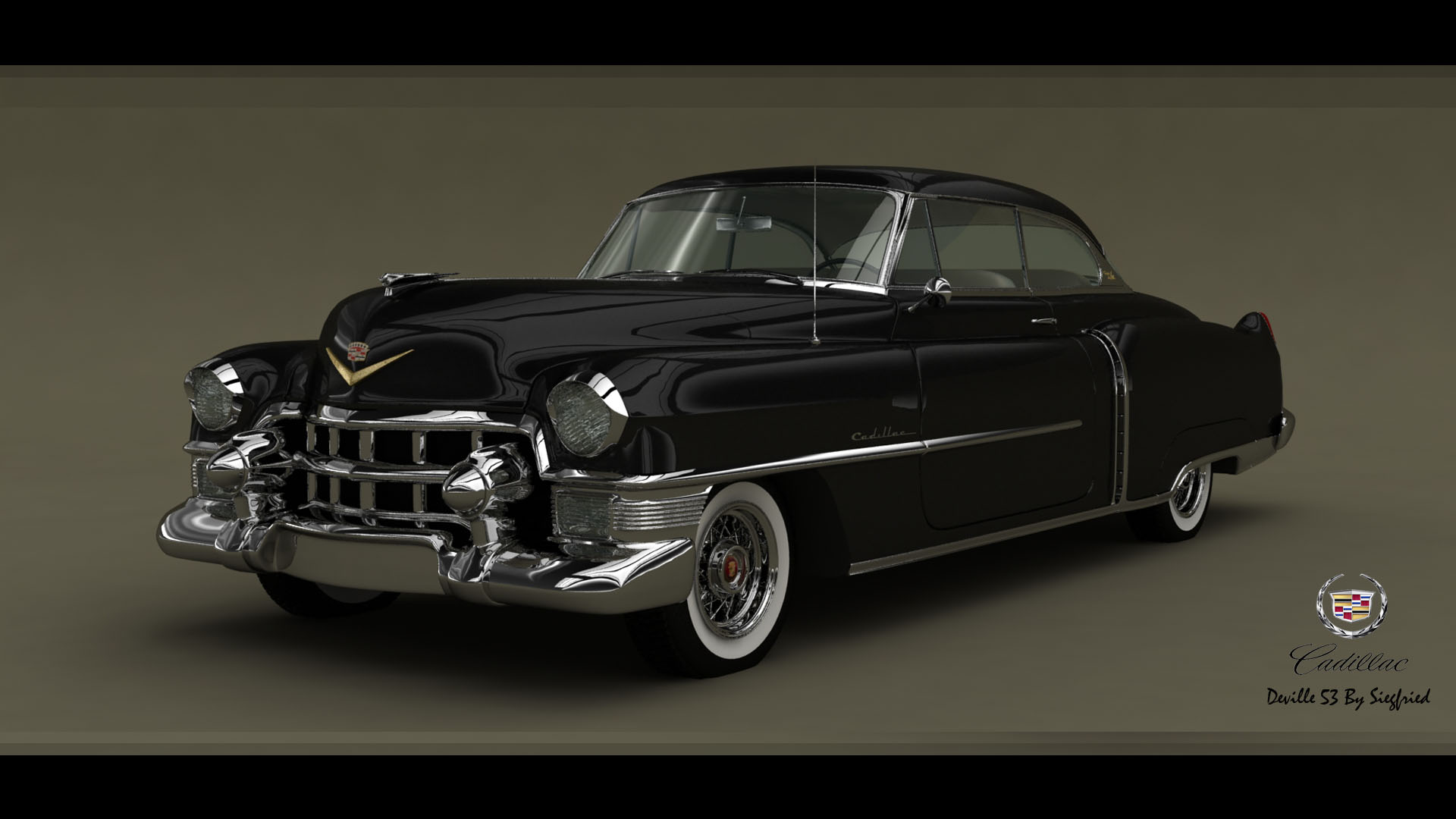 Cadillac Deville coupe 1953 by Siegfried-Ukr on DeviantArt