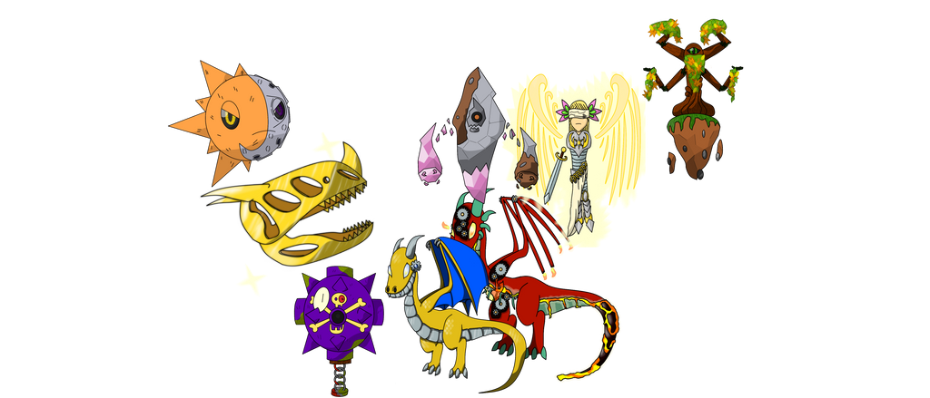 Boss Monsters! by Draggaco