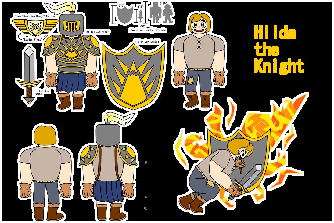 Hilda The Knight by Draggaco