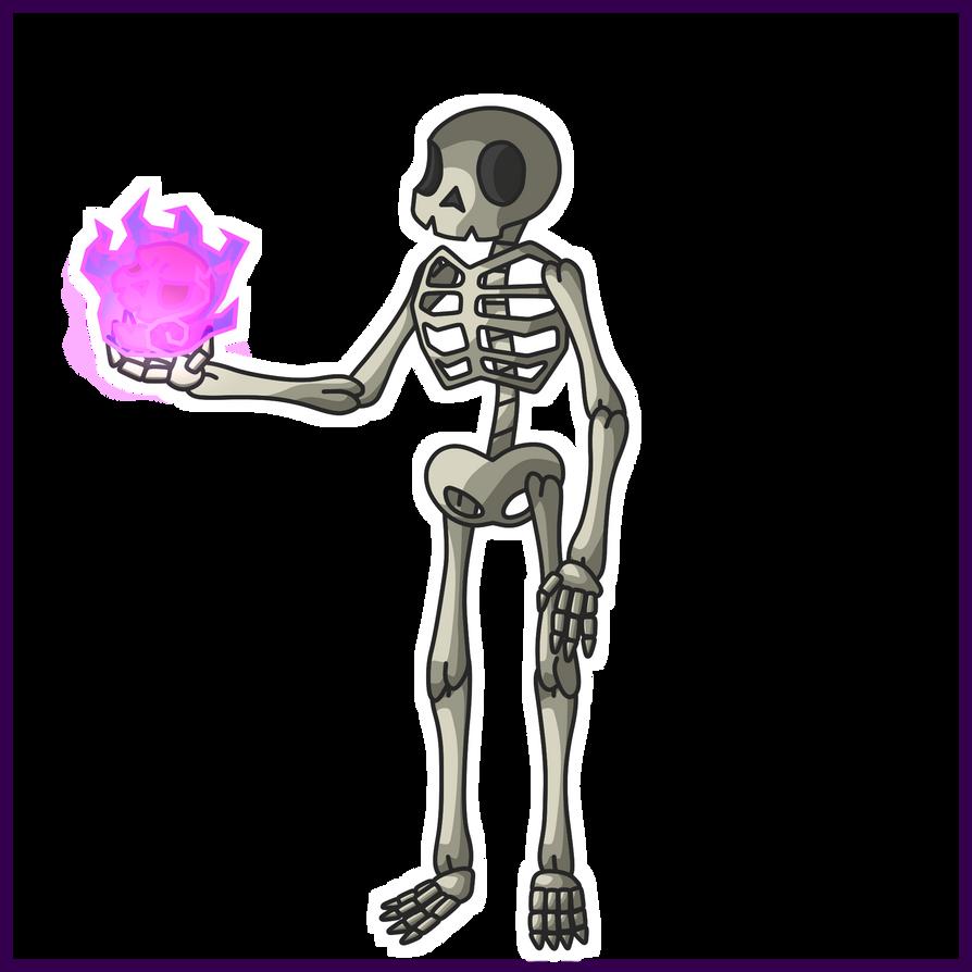 SKeleton - Simple Concept Art by Draggaco