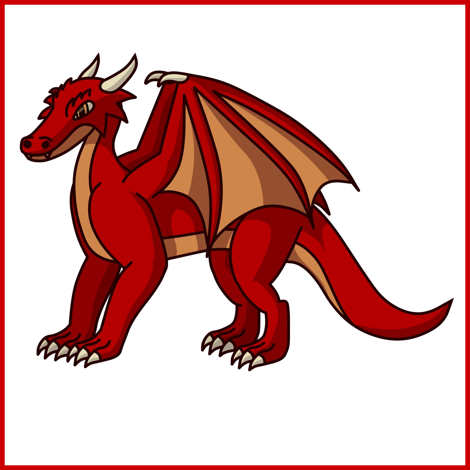 Dragon - Simple Concept Art by Draggaco