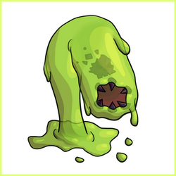 Acid Slime - Simple Concept Art