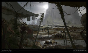 Middle-Earth: Shadow of Mordor Concept Art by ScribblePadStudios