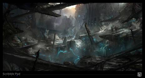 Epic Games - Environmental Concept Art by ScribblePadStudios