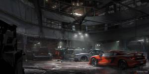 The Crew - Ubisoft: Garage Interior Design