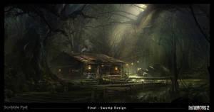 Infamous 2 - Swamp Design Final by ScribblePadStudios