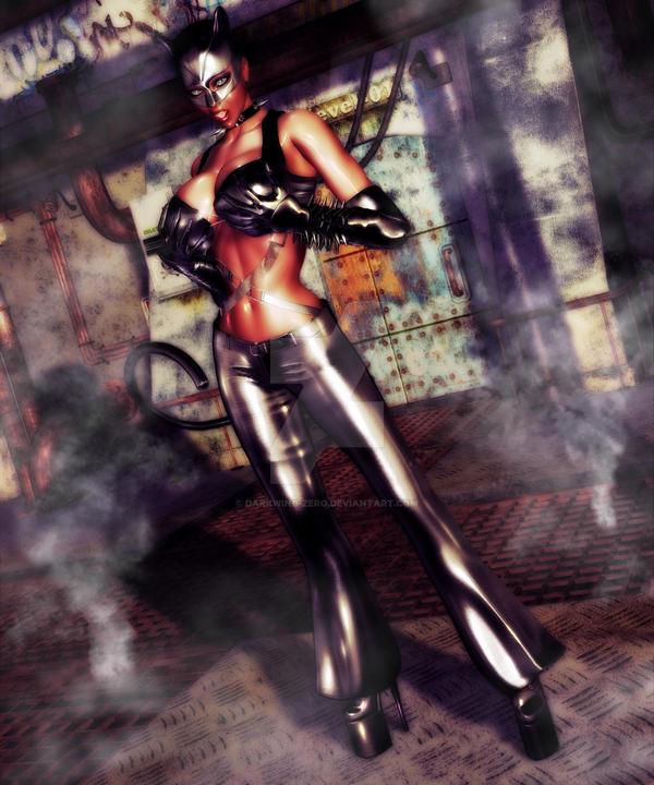 Catwomman by DarkWing-Zero