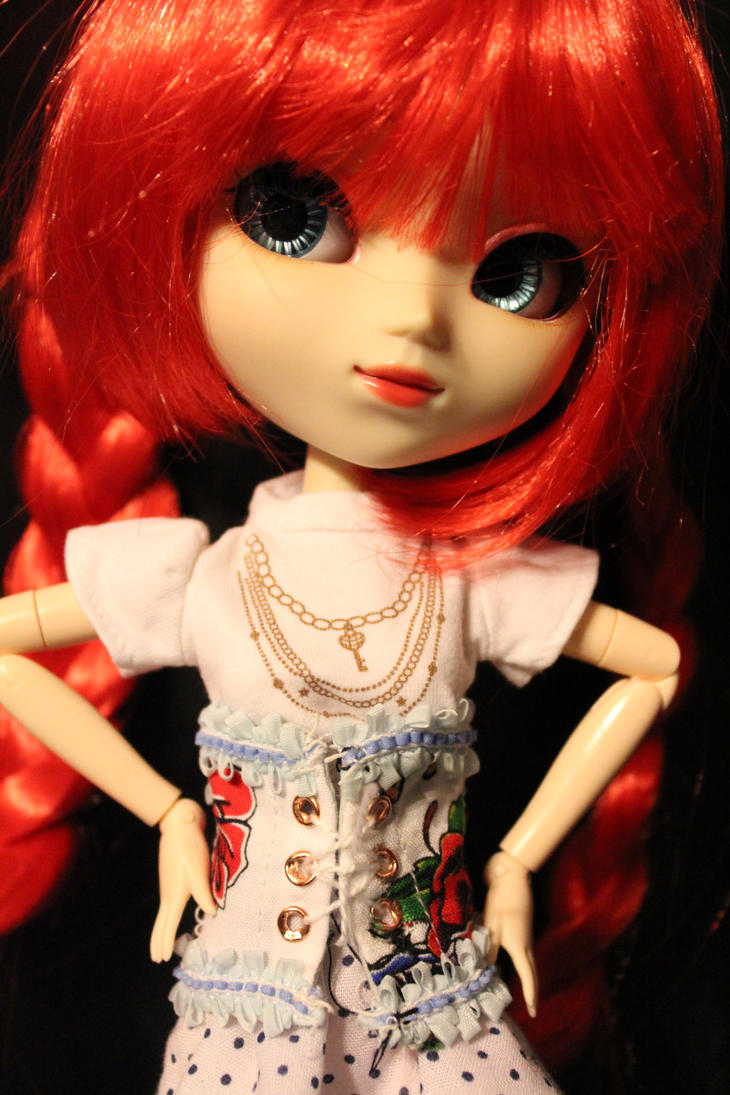 Pullip Doll  Corsett by DarkWing-Zero