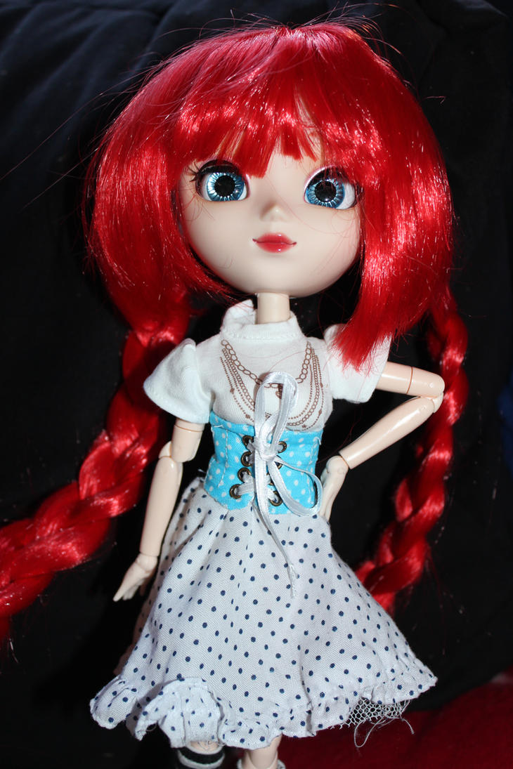 Simple  Corsett  for  Pullip dolls by DarkWing-Zero