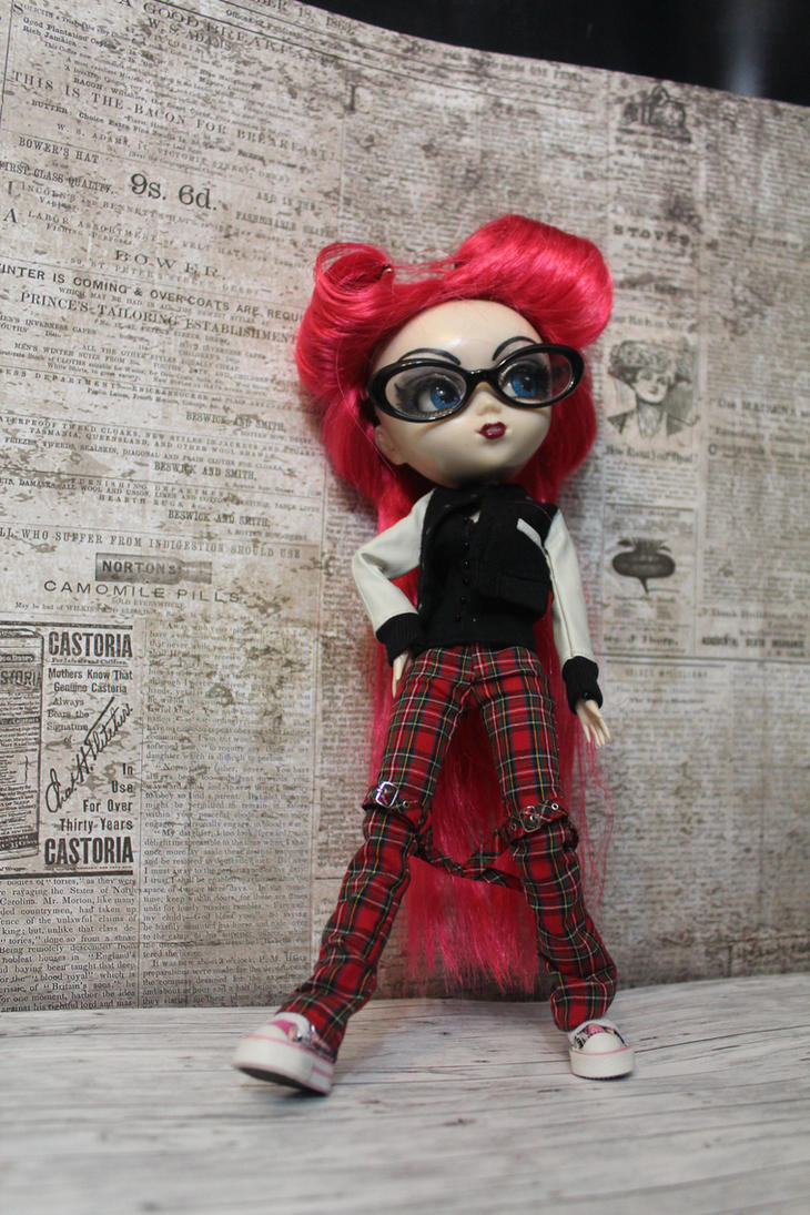 Pullip Custom rockabella Ira by DarkWing-Zero