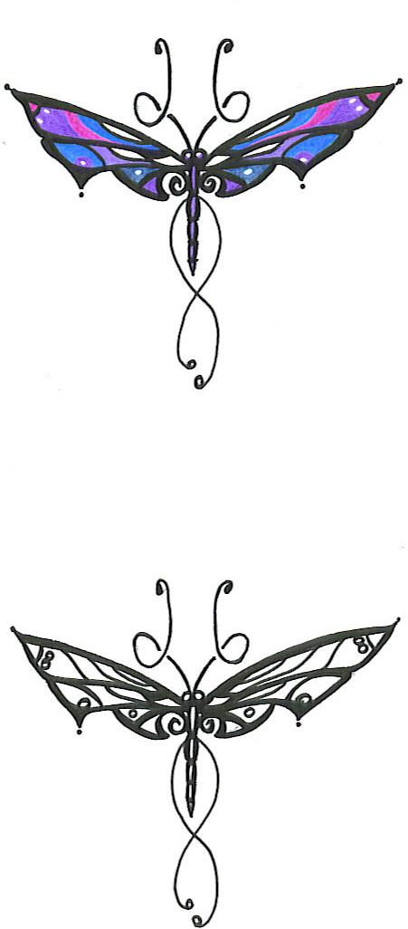 Dragonfly A Study - dragonfly tattoo