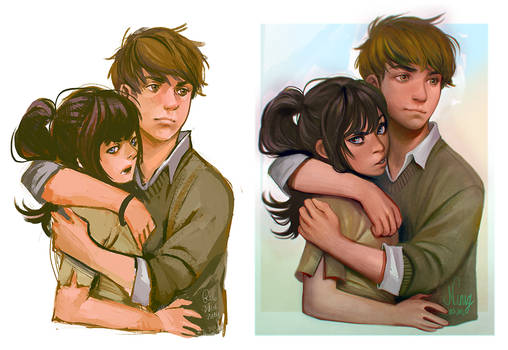 Alphonse et Tatiana